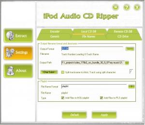 iPod Audio CD Ripper