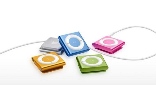 Naujas iPod Shuffle